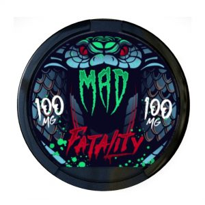 MAD Fatality 100mg Snus Pods Direct