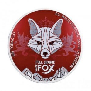 White Fox Full Charge Snus Pods Direct