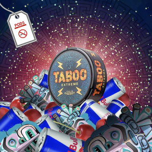 Taboo Cold Energy 55mg Snus Pods Direct