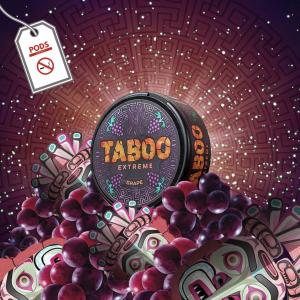 Taboo Grape 55mg Snus Pods Direct