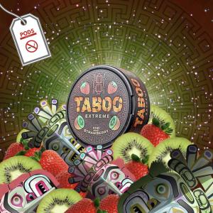 Taboo Kiwi & Strawberry 55mg Snus Pods Direct