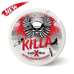 Killa X Cold Mint 24mg Snus Pods Direct