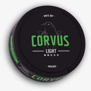 Corvus Light Menthol Snus Pods Direct