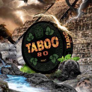 Taboo Mint Snus